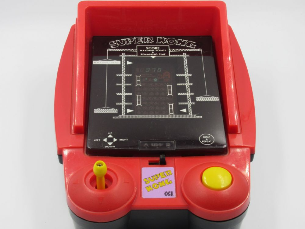 Super Donkey Kong Vintage 1981 Tabletop Electronic Arcade Game